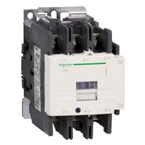کنتاکتور اشنایدر  3 پل 80 آمپر ولتاژ ببین 24 DC