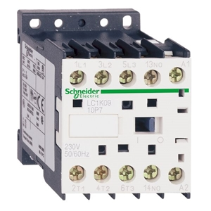 کنتاکتور اشنایدر  3 پل 9 آمپر ولتاژ ببین 220 AC