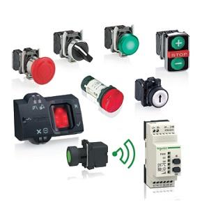Push Buttons, Switches, Pilot Lights and Joysticks