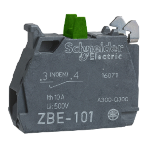 ZBE101,NO SCREW TERMINAL CONTACT