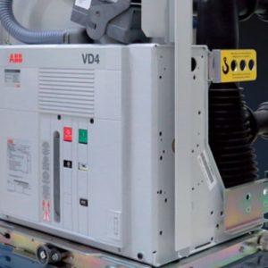 ABB VD4 12KV 1250A کلید خلا وکیوم فشار متوسط فیکس